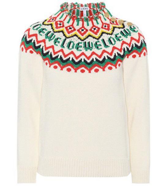 LOEWE sweater cotton