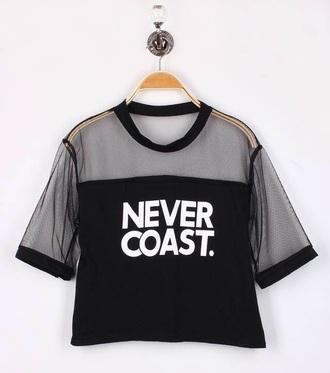 top black mesh never coast