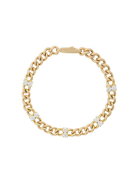 Jemma Wynne women gold yellow grey metallic jewels