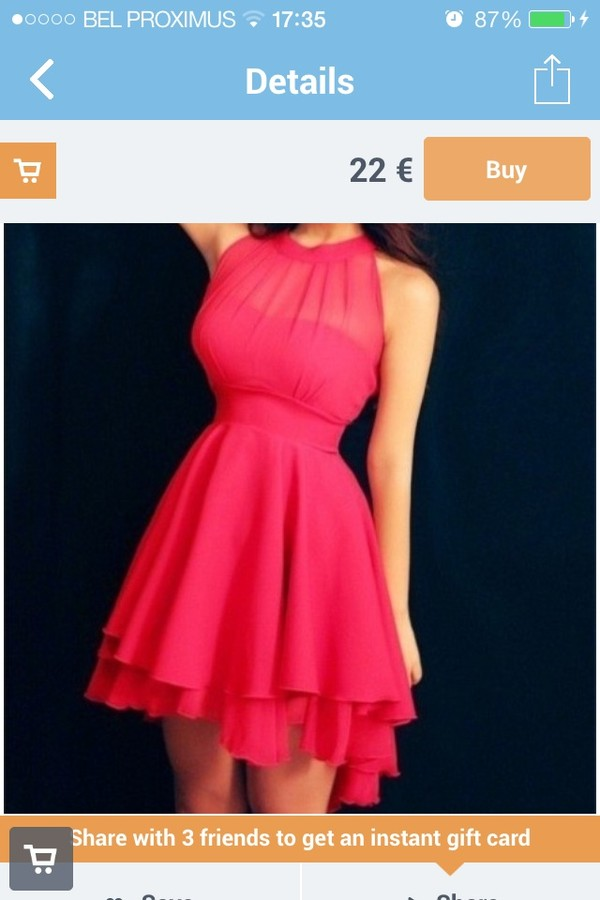 dress red dress red musthave girly summer dress