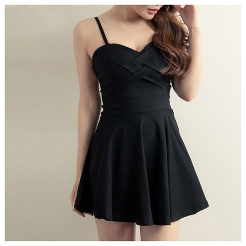 Sexy crisscross cutout mini dress from doublelw on storenvy