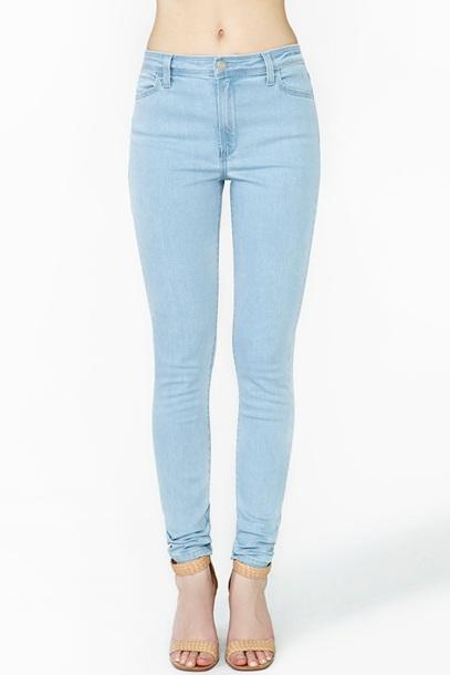 797463fe1a7678 jeans light blue jeans light blue cute tumblr skinny jeans blue skinny jeans
