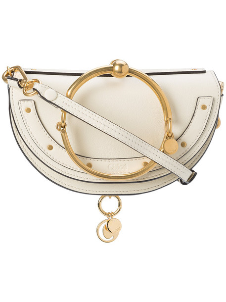 Chloe women bag leather white