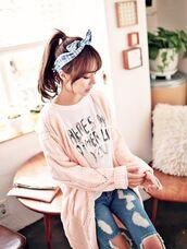 sweater,long,rose,white,fluffy,cute,korean fashion,korean style,kpop,japanese,sweet,pullover,nice,crochet,crochet top,ulzzang