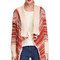 Bohemian stylish lady women's striped long sleeve knit cardigan casual sweaters_sweaters & hoodies_tops_clothing_the latest trends & fashion clothing for women online store-www.dressin.com