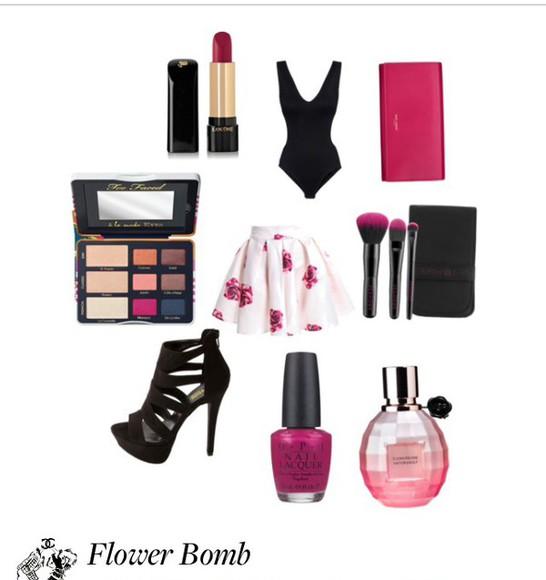 bodysuit pink dress pink skirt makeup brushes makeup, eye shadow, eye makeup, makeup look