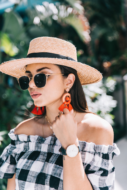 sunglasses hat tumblr sun hat accessories Accessory earrings accent earrings
