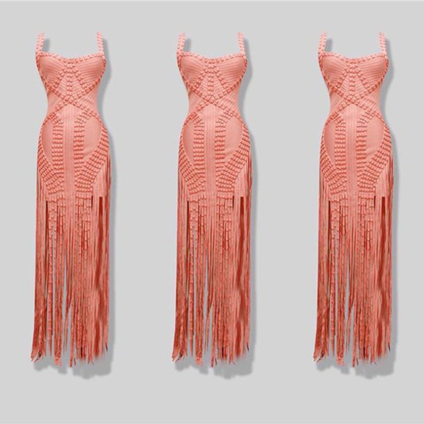 dress color options fringed dress celebrity style runway Tassel dress mini  dress maxi dress bandage dress 035050a1db