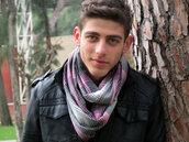 scarf,mens scarf,infinity scarf,infiniti scarf,plaid,flannel scarf,pink scarf,grey scarf,mens printed scarf