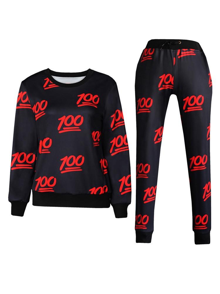 100 emoji joggers black and red cheap emoji pants for men