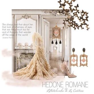 jewels lvr: hedone romane earrings earrings european style luisaviaroma romantic chic