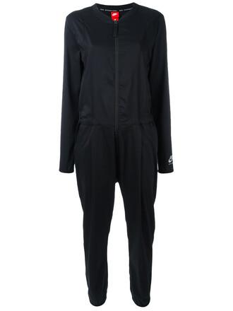 jumpsuit women cotton black