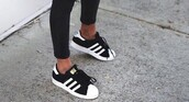 shoes,adidas,black and white,adidas superstars