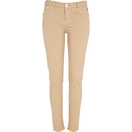 Beige Jeans For Women | Bbg Clothing