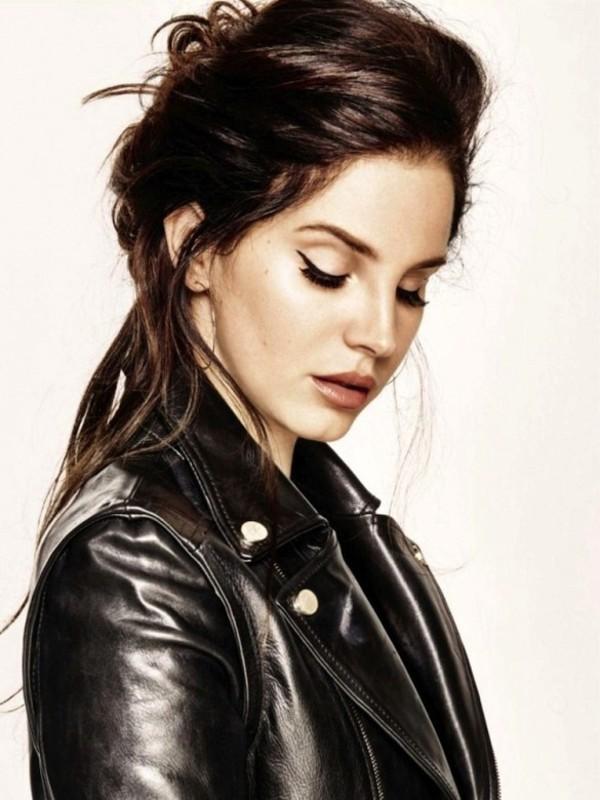 Jacket Lana Del Rey Leather Jacket Blouse Wheretoget