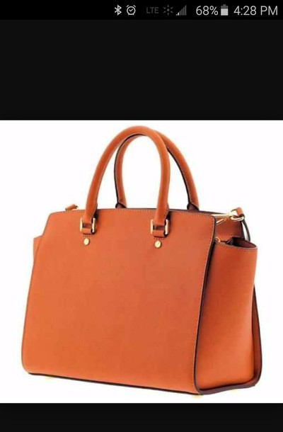 Bag: orange bag, cute purse, bags and purses, big purse, cheap ...