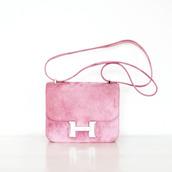 bag,hermes bag,designer bag,shoulder bag,hermes,pink bag,pastel  bag,crossbody bag,handbag,pink,gift ideas