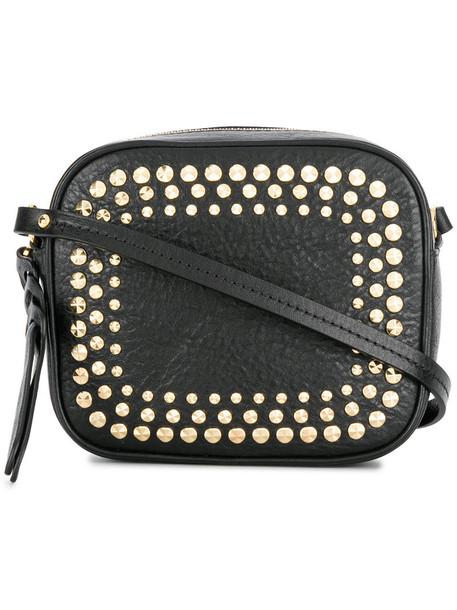 Alexander Mcqueen mini women bag leather black