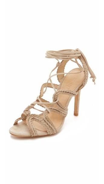 Schutz Nelda Sandals - Oyster