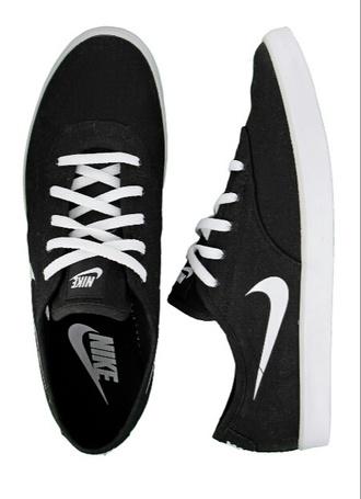 shoes nike nike shoes nike sneakers black white black nike white nike