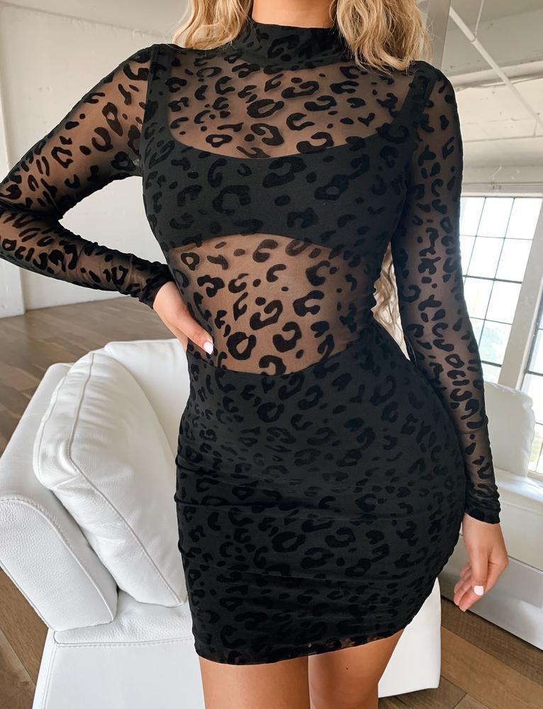 Reggie Dress - Black - S BLACK