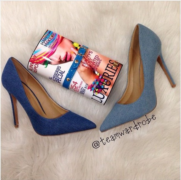 shoes jeans heels