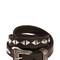 20mm western studded leather belt