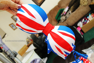 swimwear british bikini union jack britan cute