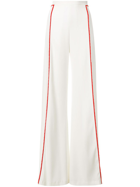 Galvan high women white pants