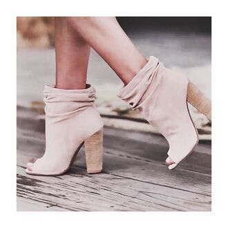 shoes free vibrationz booties spring spring booties spring boots boots open toes slouchy shoes heels heel boots kristin cavallari chinese laundry