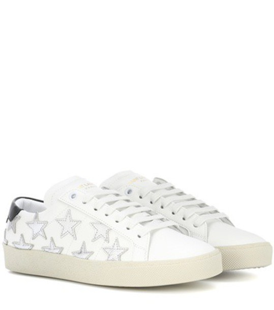 classic sneakers leather white shoes