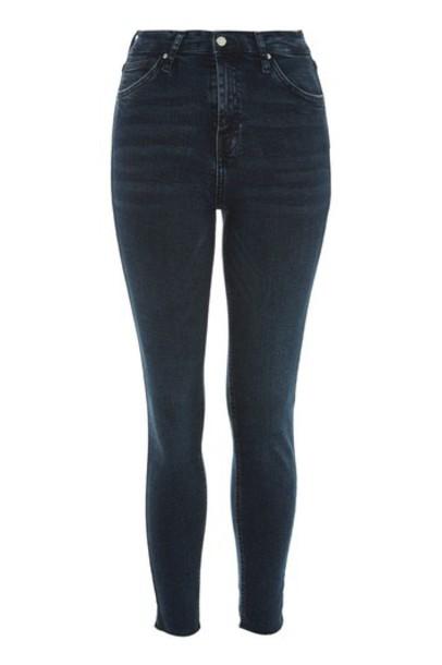 Topshop jeans blue black