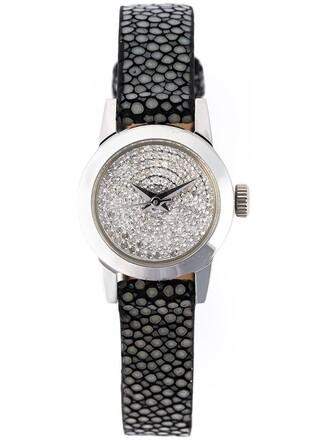cute watch grey jewels