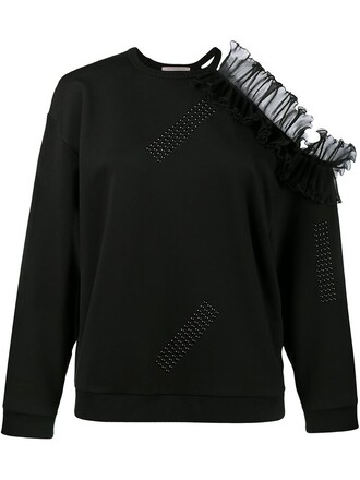 sweatshirt cold black sweater