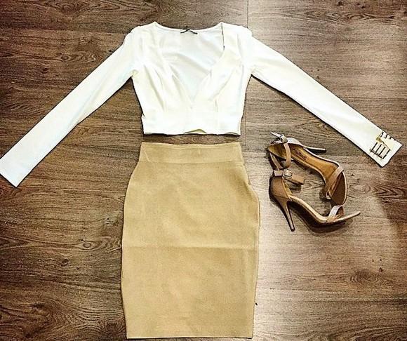 blouse white criptops