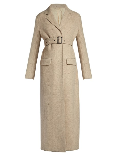 The Row coat long beige