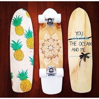 jewels skateboard penny board perfection pineapple quote on it bag shorts hipstah long board longboard hipster hipsta tumblr tumblr girl beach hawaiian hena cute swimwear pineapple print scarf skate boards home accessory hola cruiser decks phone cover flowers white fruity fruits beach house graphic design