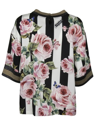 blouse printed blouse floral top