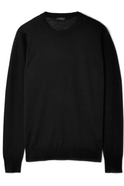 Joseph sweater black