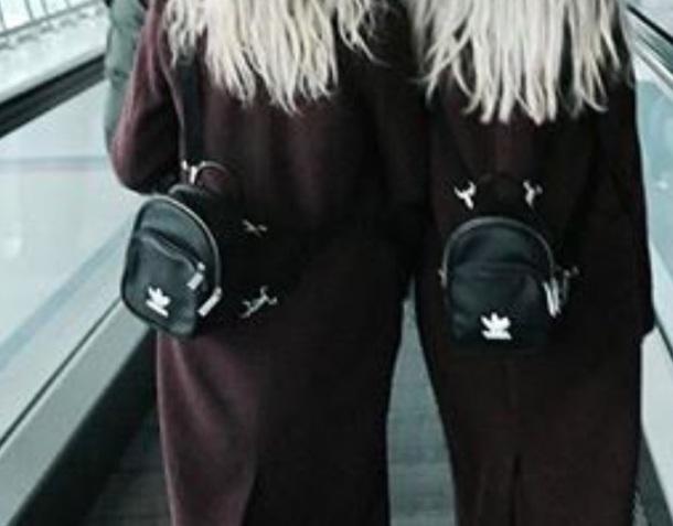 46f6528570 bag black bag mini backpack adidas