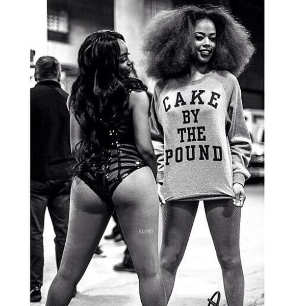 beyonce cake long sleeves quote on it cute top booty sweater beyonce shirts beyoncé shirt beyonce fashion curly hair grey t-shirt tights african american black girls killin it crewneck belt coat dope