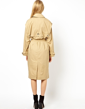 ASOS | ASOS Longline Trench in Cotton at ASOS