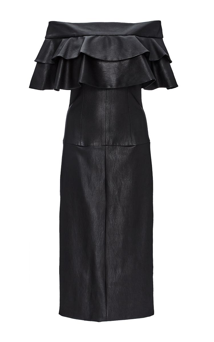 Stretch Leather Lady Mary Dress by Cushnie et Ochs | Moda Operandi