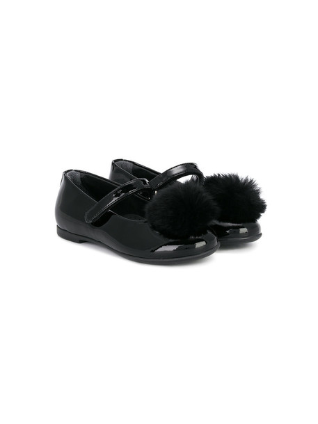 Florens leather black shoes