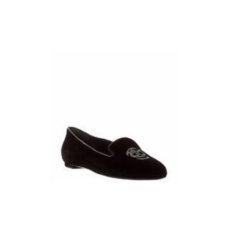 shoes skull black pumps alexander mcqueen flats