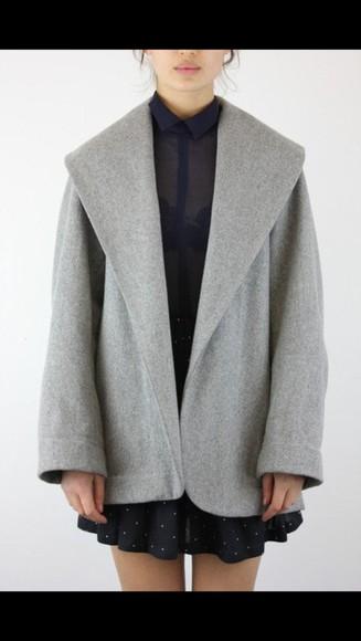 bag backpack air coat grey coat