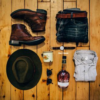 stay classic blogger shirt shoes jeans belt jewels sunglasses hat