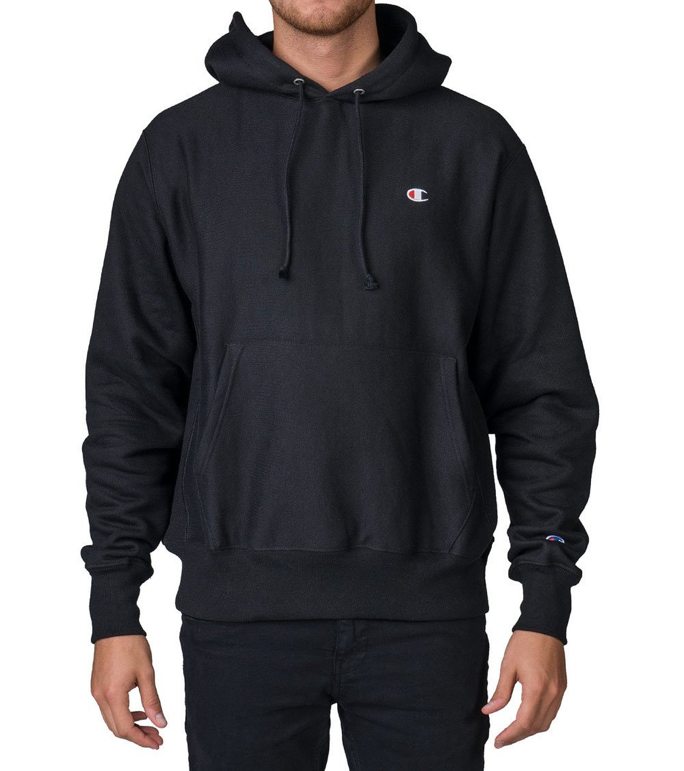 Reverse Weave Pullover Hoodie at Amazon Men's Clothing store:
