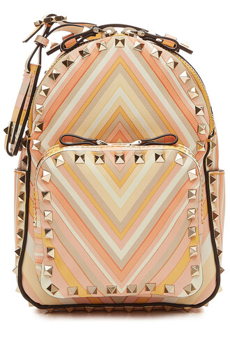 mini backpack leather backpack leather multicolor bag