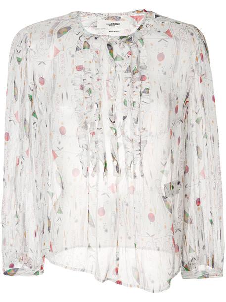blouse chiffon blouse chiffon women white silk top